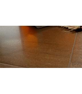 Kaleido marrone lappato rettificato dettaglio superficie pavimento