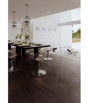 Kaleido nero naturale rettificato gres porcellanato effetto pietra per pavimenti interni