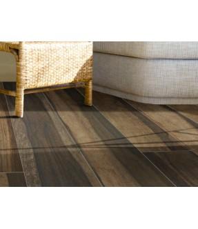 ecochic palissandro rettificato gres porcellanato effetto legno pavimento dettaglio