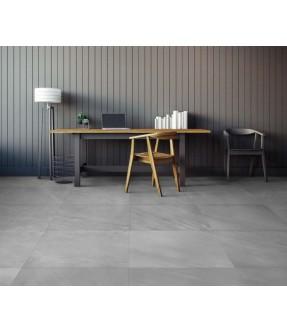 piastrella in gres effetto pietra color grigio chiaro