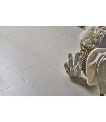 piastrella neutra grigio ad effetto cemento per pavimenti interni