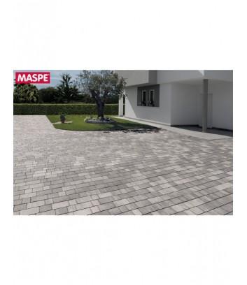 Maspe matrix grigio argento autobloccanti pavimento da esterno