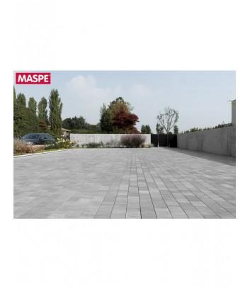 Maspe pavimento da esterno autobloccanti matrix grigio argento
