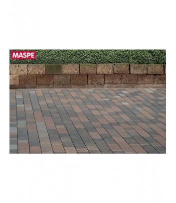 Pavimento Maspe matrix da esterno autobloccanti rosso nero beige