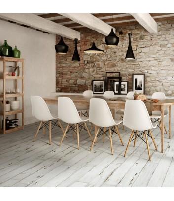 painted white gres effetto legno bianco invecchiato