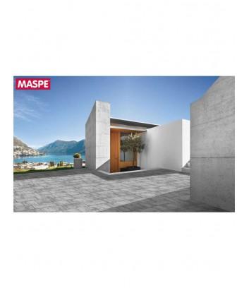 Terrazza con pavimento skema grigio serizzo Maspe