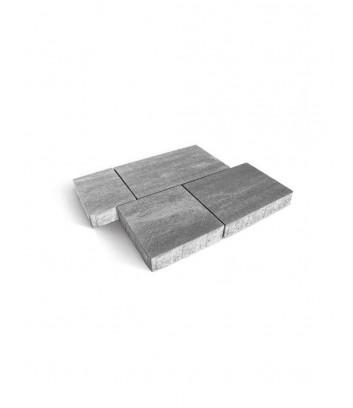 Dettaglio massello autobloccante skema grigio serizzo Maspe