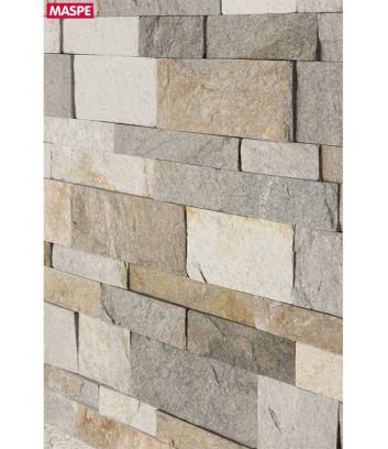 Dettaglio rivestimento in pietra naturale van gogh maxi wide maspe