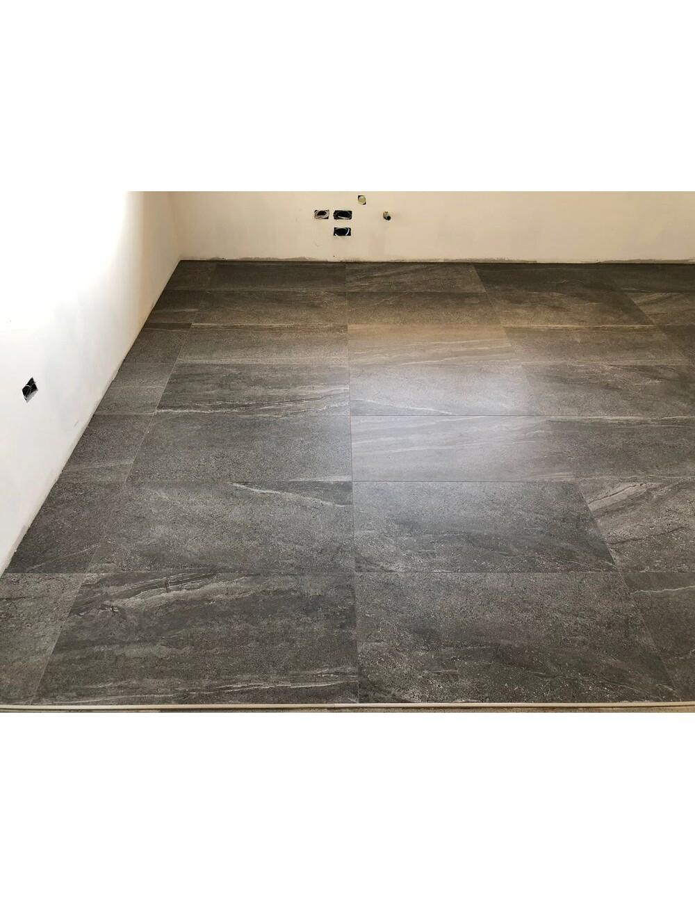 artica antracite pavimento in gres effetto pietra