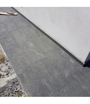 piastrelle per pavimentazioni esterne artica grigio roc