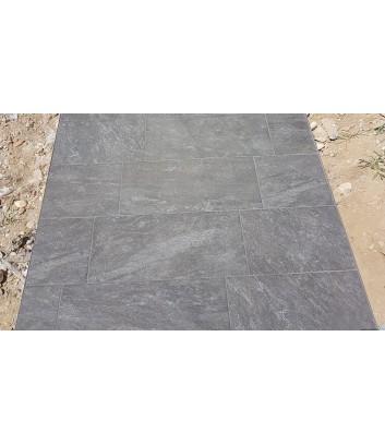 piastrelle in gres da esterno antiscivolo artica grigio roc