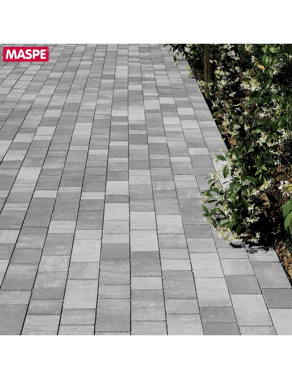 Autobloccanti pavimento da esterno  maspe matrix grigio argento