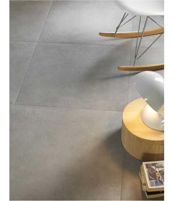 piastrella effetto cemento color grigio chiaro