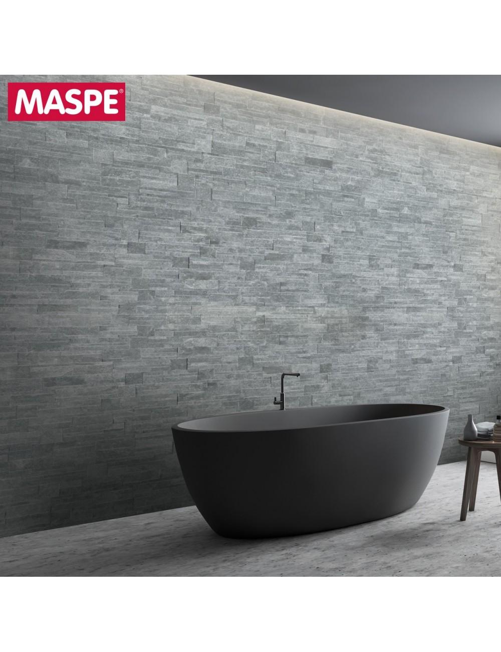 Bagno con rivestimento in pietra naturale cezanne maspe