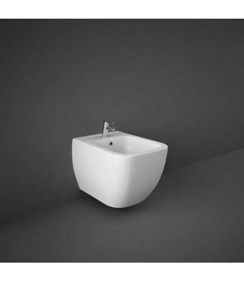 Bidet sospeso w/hidden fixation metropolitan rak ceramics