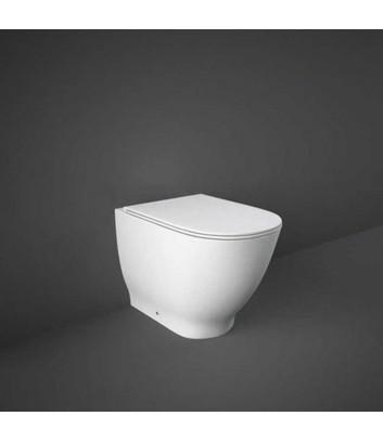 WC a terra e filo muro rimless linea Moon Rak Ceramics