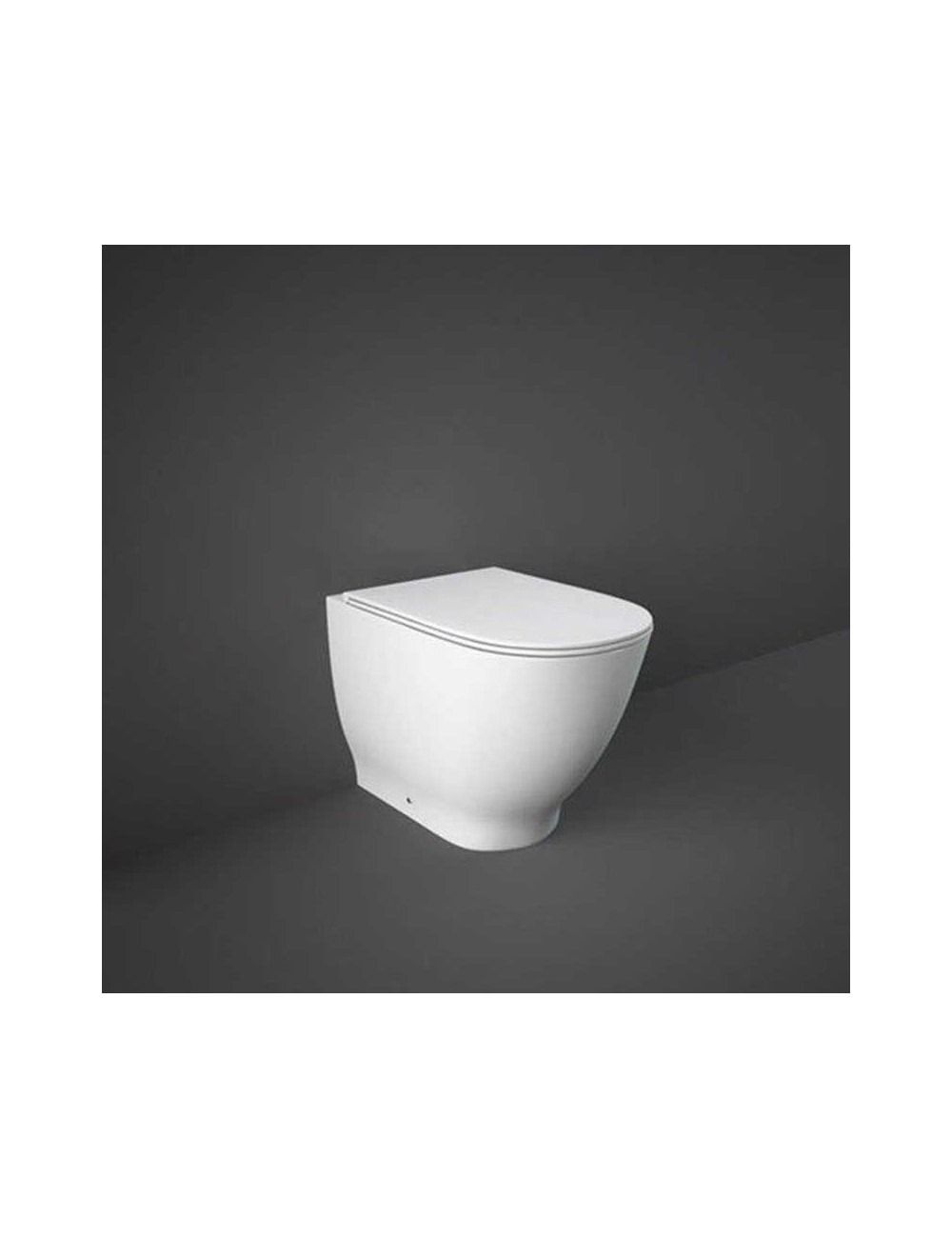 Altezza Ideale Sanitari moon wc filo muro rimless - rak ceramics