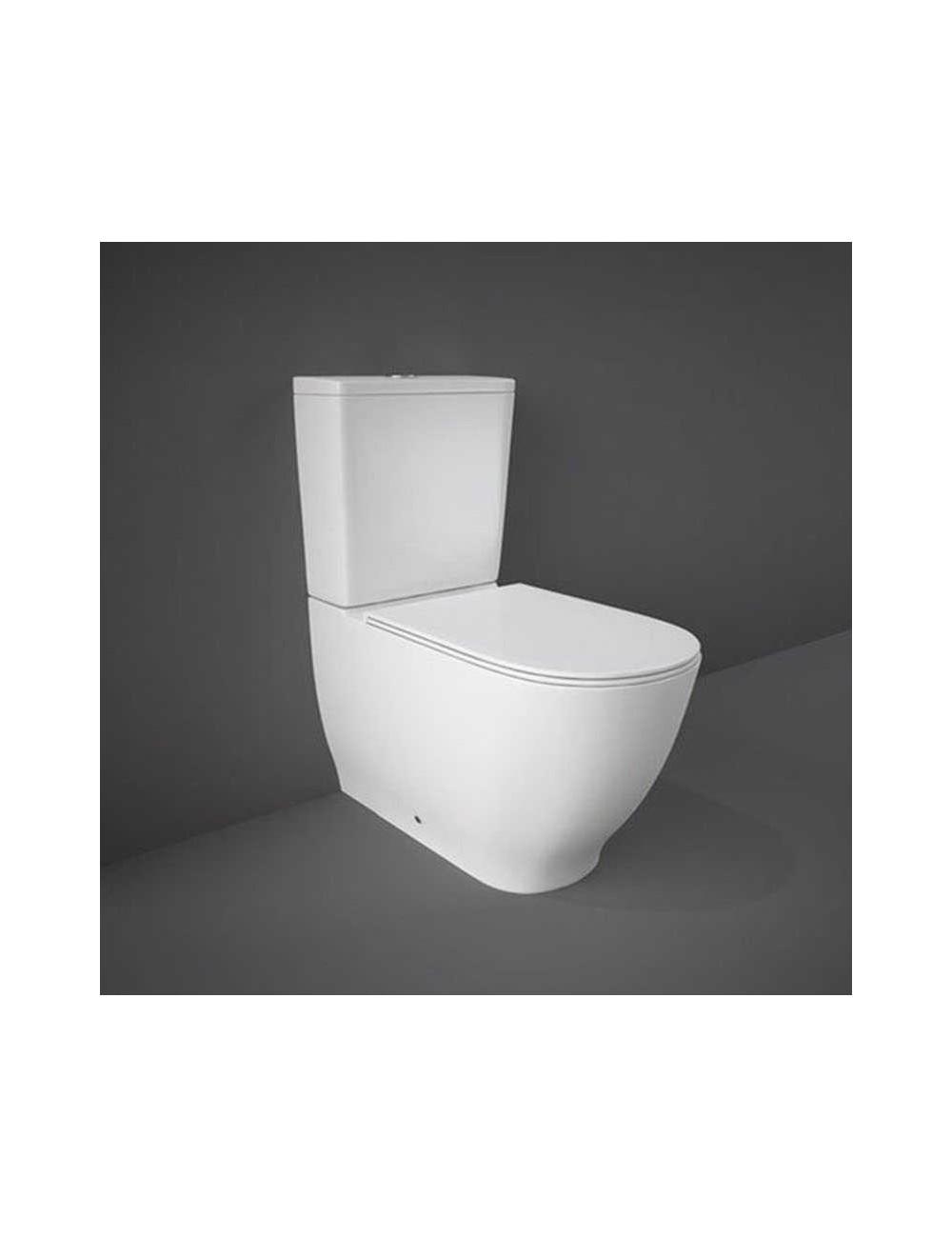 WC monoblocco rimless della linea Moon Rak Ceramics
