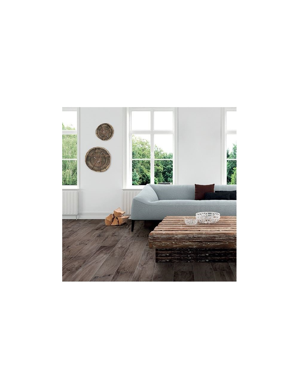Fuga Minima Pavimento Rettificato bark root