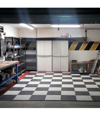 logica nero piastrella effetto cemento perfetta per il garage