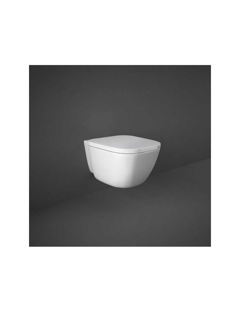 WC sospeso con sistema rimless linea One Rak Ceramics