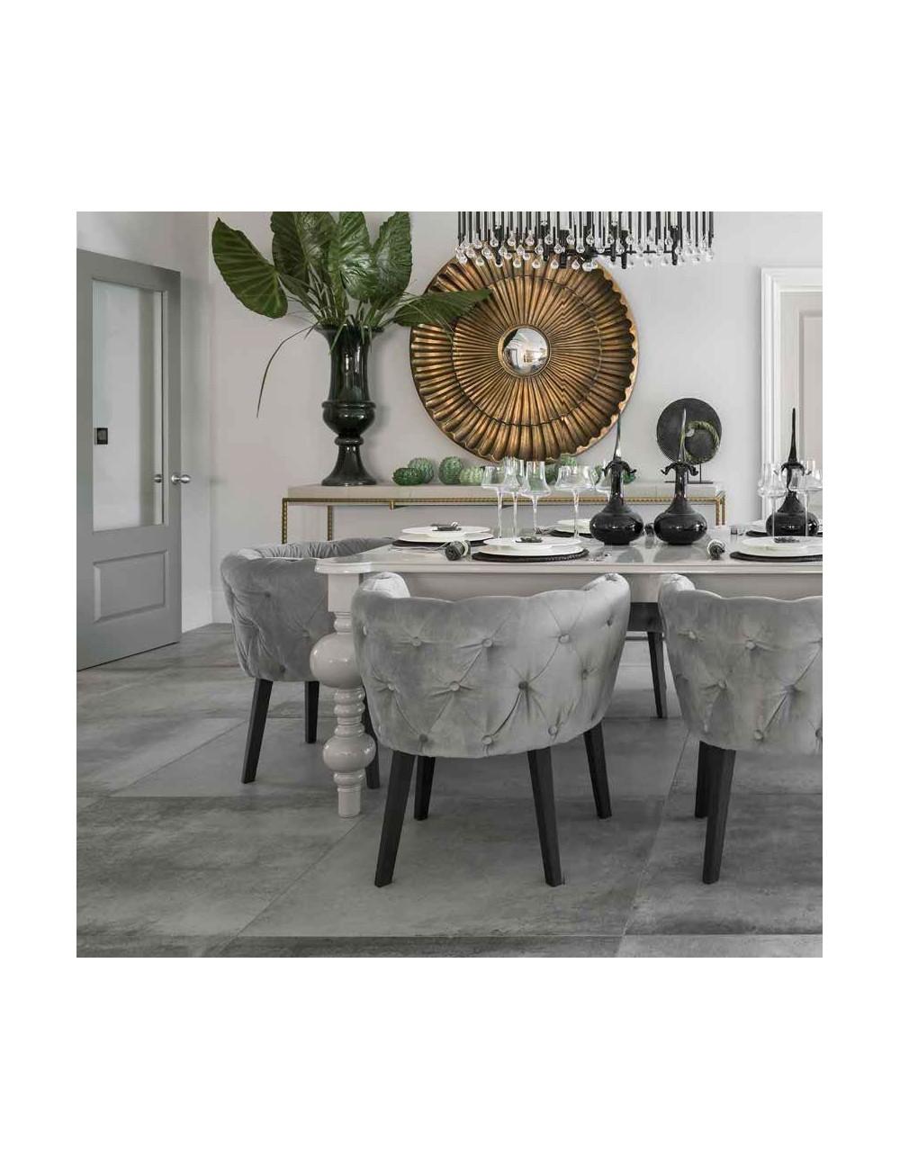hemisphere steel piastrella effetto cemento grigio scuro